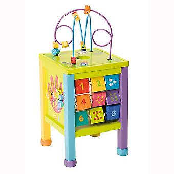 Boikido Counting Station Wooden Activity Cube