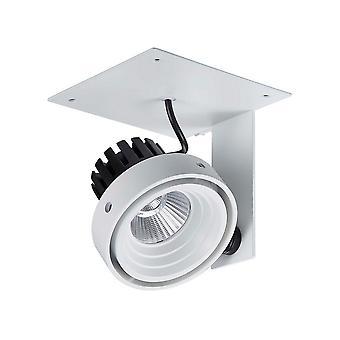 Italux Patrizio Single 3000K - MODERNO TÉCNICO LED empotrable techo blanco, negro, blanco cálido 3000K 980lm