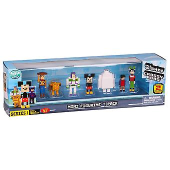 Disney Crossy Roads Mini Figurines 7 Pack