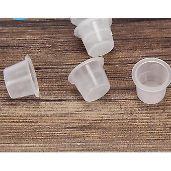 Plastik, Tek Kullanımlık Dövme Mürekkep Bardakları