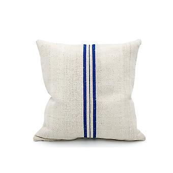 خمر الحبوب كيس ثلاثة خطوط زرقاء غطاء وسادة