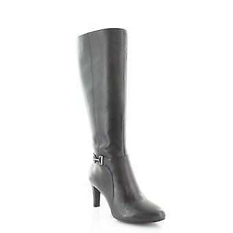 Alfani Femmes Perrii Cuir Fermé Toe Knee High Fashion Boots