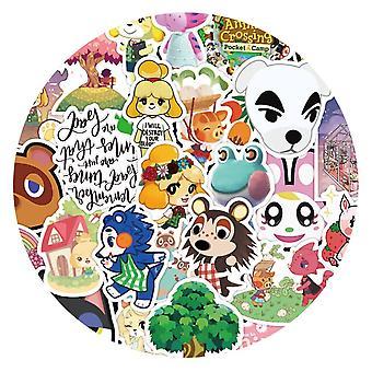 50pcs Animal Crossing Game Stickers Skateboard Koelkast Gitaar, Laptop,