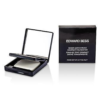 Edward Bess Sheer satinado crema base compacta - #01 Light 5g / 0.17 oz