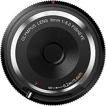 9 mm 1:8.0 Fish Eye Body Cap Lens - Black