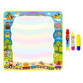 Big Size Drawing Mat - Painting With Water Doodle Pen, Non-toxic Coloring