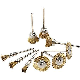 Brass Wire Wheel Brushes, Die Grinder, Rotary Electric Tool For Engraver