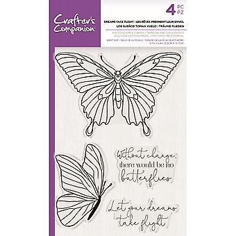 Crafter's Companion Dreams ottaa lennon selkeät postimerkit