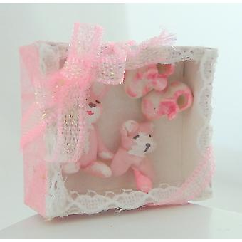 Dolls House Girls Gift Set Miniature Shop Nursery Accessory Baby
