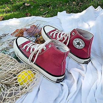Autumn- Classic Canvas, Flats Vulcanized ,casual Shoes