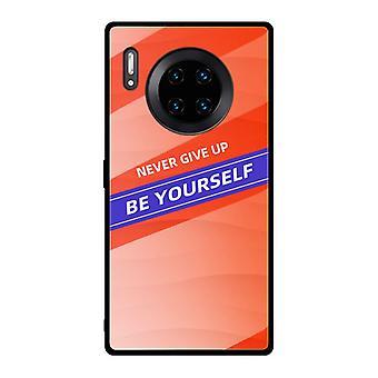Zelf aangemoedigdgehard glas case voor Honor 9X Pro - Oranje