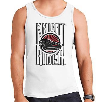 Knight Rider Text och Logo Men's Väst