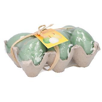 Easter Egg Kaarsjes 6 Stuks Bt384840