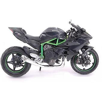 Maisto Motorbike 1:18  Kawasaki Ninja H2 R Black & Green