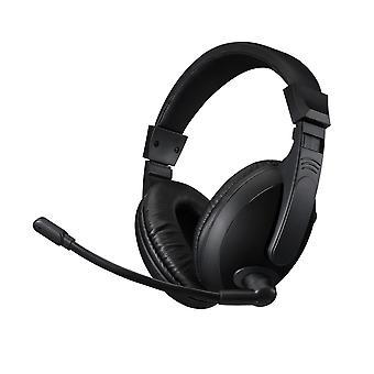 Adesso Xtream H5U | Multimedia-Kopfhörer - Inklusive Mikrofon - USB