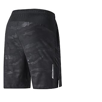Crossfit Shorts Quick Dry Fitness Gym Shorts com bolso