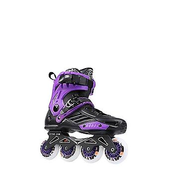 Skates Roselle Rs6 Inline Skates 72-76-80mm Or 3*110mm Slalom Speed Inline
