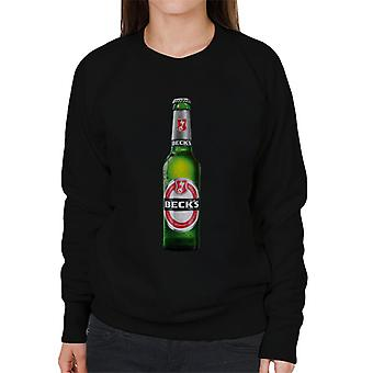Beck's Bottle Women's Sweatshirt