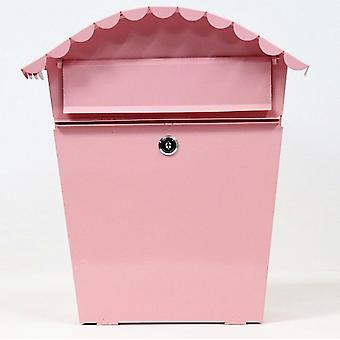 Garden Painting Iron Outdoor Newspaper Fashion Post Box