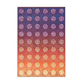 Ferdes Teppich Wojo Violett/Orange