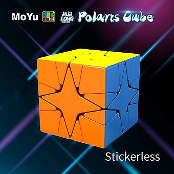 Cubing Classroom Polaris Cube Sticker Less Magic Puzzle Educational Polaris Toy