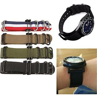 Replacement Nylon Watch Band Strap Bracelet For Suunto Essential/Core/Traverse Series 29 x 2.5cm