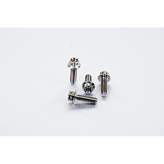 Pro perno titanio freno y palanca de embrague perca pellizcar pernos carrera especificación (4 paquetes) TIBCPERCH50R
