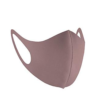 Adults Ice Silk Face Mask,Washable & Brethable,Reusable,Without Valve