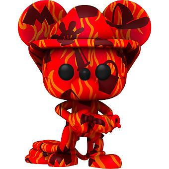 Mickey Mouse Firefighter (Artist) US Pop! Vinyl