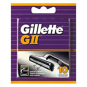 Gillette Ersatzteile für GII 10 Stück
