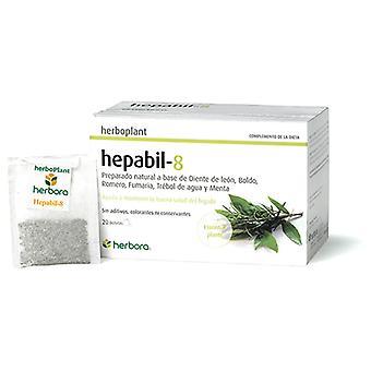 Herbora Herboplant Hepabil - 8 de 20 Sobres