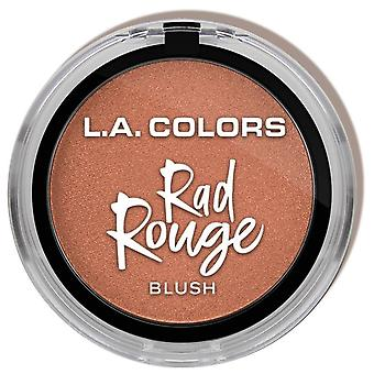 L.A. Colors Colorete Rad Rouge Preppy