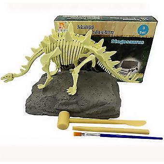 Wokex Dinosaurier Dig Kit Kinderspielzeug Dinosaurier-Ausgrabungskits, Dino Fossil Dig Kit DIY