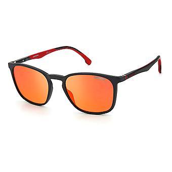 OCCHIALI DA SOLE CARRERA 8041/S OIT/W3 Nero Rosso/Rosso Specchio Arancione