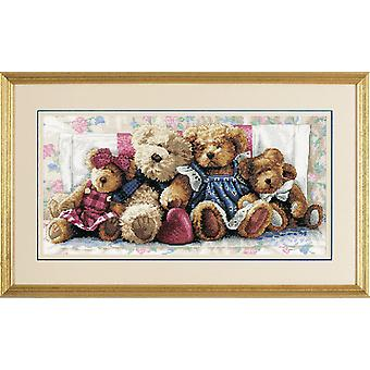 Dimensions Gold: Counted Cross Stitch: A Row of Love