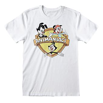 Animaniacs Mens Group Distressed T-Shirt