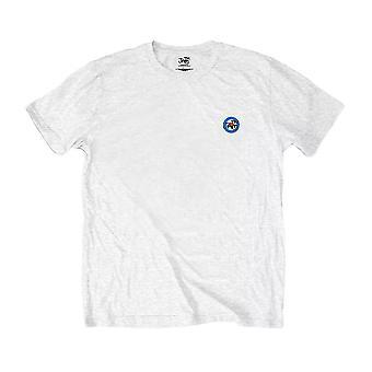 Men's The Jam Spray Target Logo White Crew Neck T-Shirt