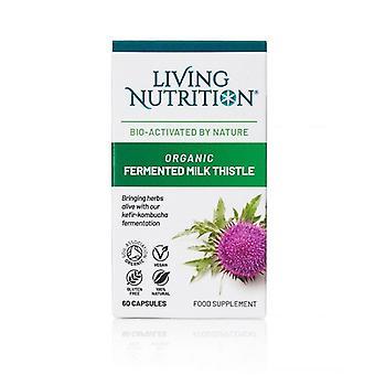 Living Nutrition Organic Fermented Milk Thistle Caps 60 (LN2019)