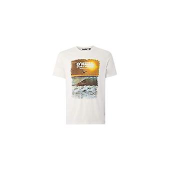 O'NEILL LM Surf - Camiseta de manga corta para hombre, Color: Blanco polvo, XS