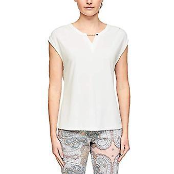 s.Oliver BLACK LABEL T-Shirt Kurzarm, 0115 White, 38 Woman
