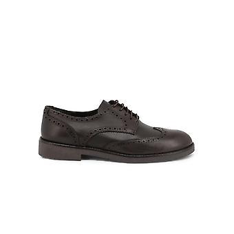Duca di Morrone - Shoes - Lace-up shoes - 1302D-PELLE-TDM - Men - saddlebrown - EU 41