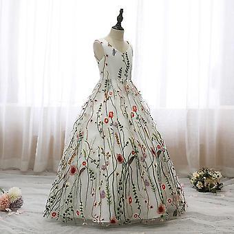 Sleeveless Backless Bow Communion Evening Princess Dresses
