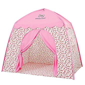 Dziewczyny grać namiot kryty namiot dla dzieci dom mała księżniczka zamek zamki namiot namiot namiot dom różowy