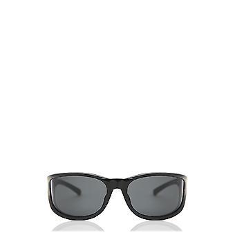 Balenciaga BB0124S svarta unisex solglasögon