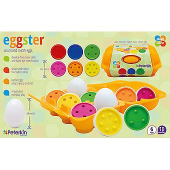 Play & Learn Eggster Count and Match Eggs