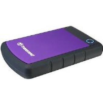 Transcend StoreJet 25H3P (2TB) 2,5 Zoll Festplatte USB 3.0/2.0 Extern (Lila)
