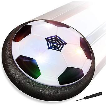 Air Power Fußball, Hover Power Ball Indoor Fußball mit LED Beleuchtung, Perfekt zum Spielen in
