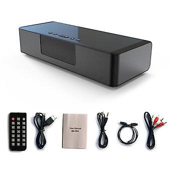 Smart alarm ringer bluetooth speaker wireless optical fiber rechargeable hands-free call