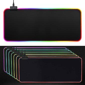 Univerzální LED velká RGB barevné osvětlení herní klávesnice podložka myši PC notebook