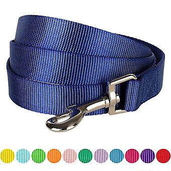 Blueberry Pet Durable Classic Solid Color Dog Lead 150 cm x 1cm for Puppy in Royal Blue, X-Small,